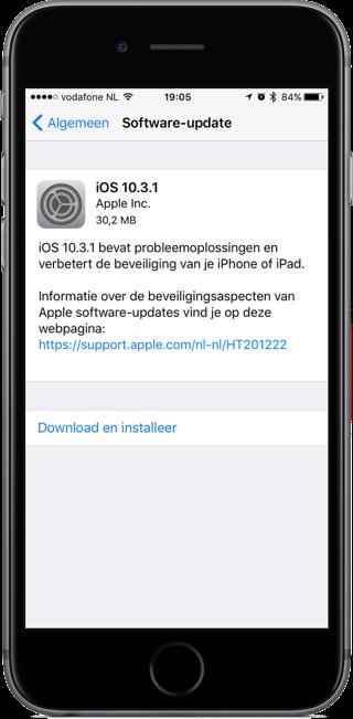 iOS 10.3.1.
