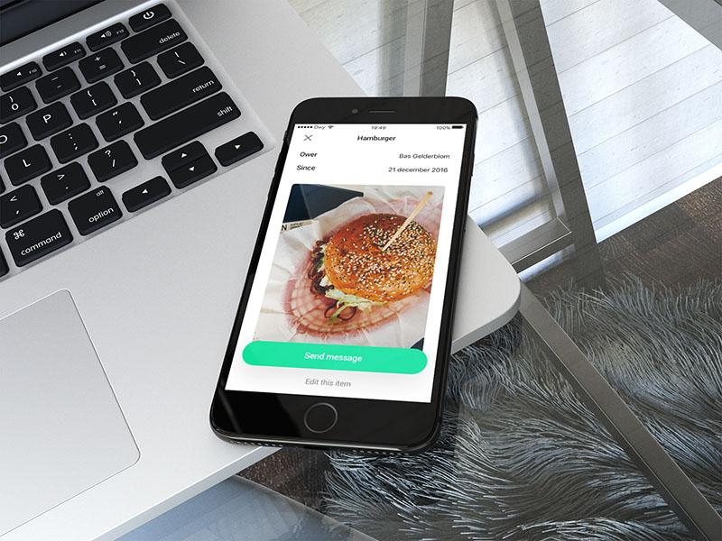 Owy-app voor iOS
