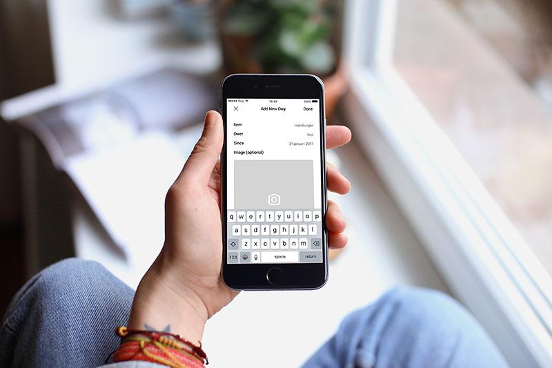 Owy-app voor iPhone