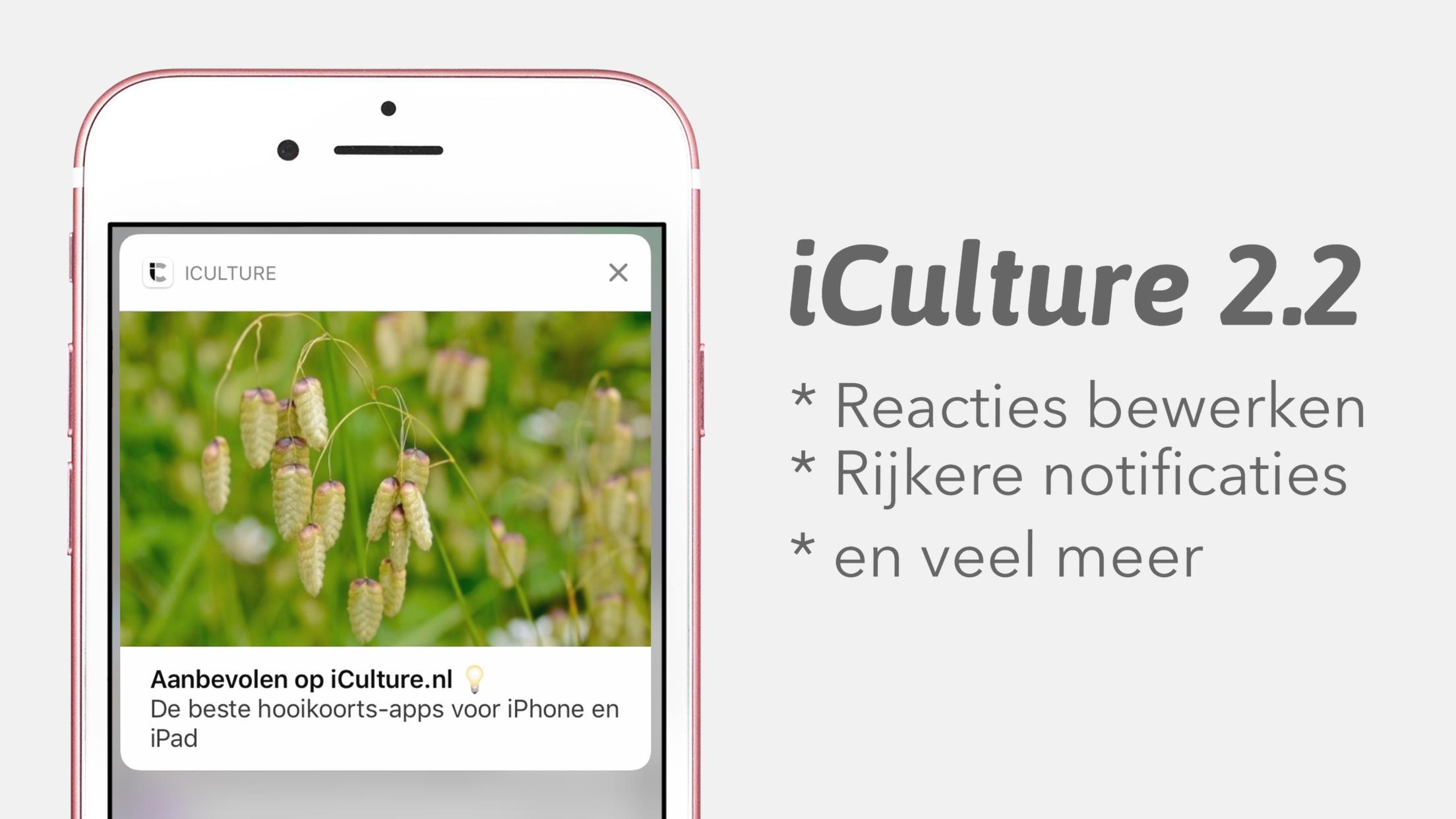 iCulture app 2.2