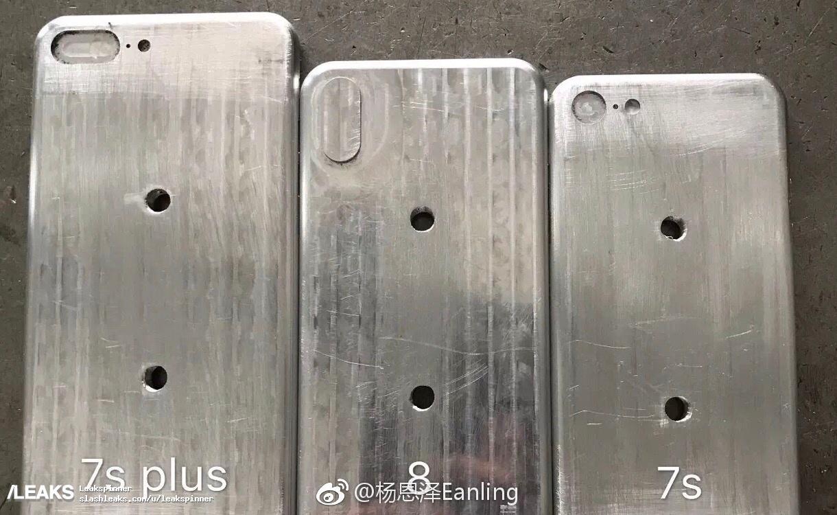 Mallen van de iPhone 8 en iPhone 7s.