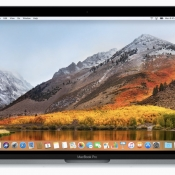 macOS High Sierra op MacBook