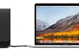 macOS High Sierra met externe GPU
