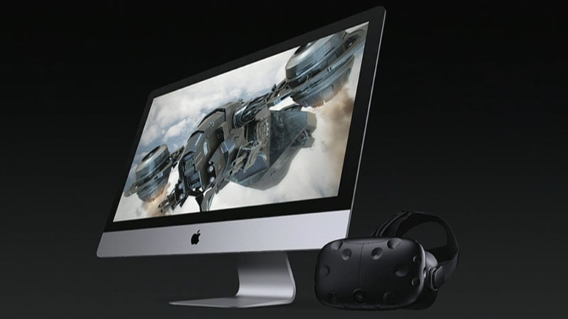 HTC Vive met macOS High Sierra