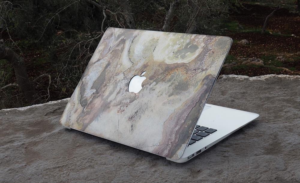 Stone Collection van Bambooti op MacBook.