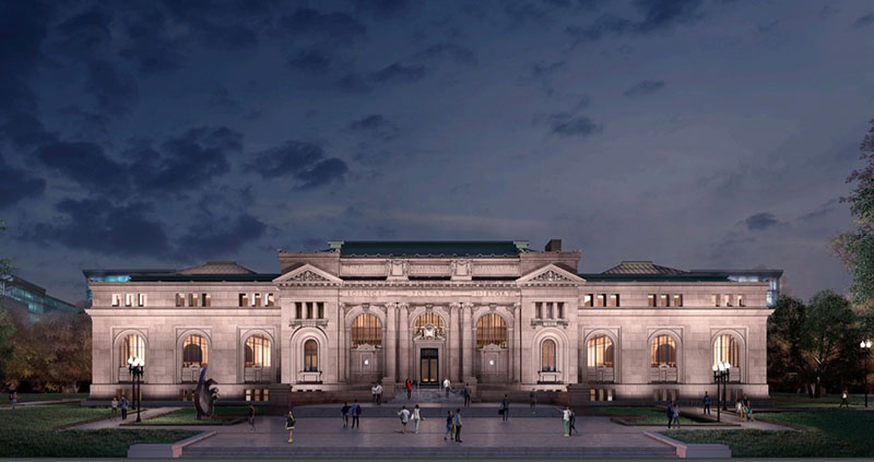 Apple Carnegie Library in Washington
