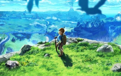 The Legend of Zelda met Link.