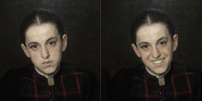 FaceApp Rijksmuseum portretten