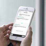 Boomerang vertalen op de iPhone.