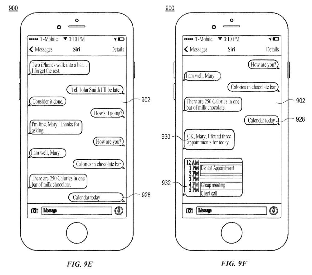 Siri in iMessage als chatbot.