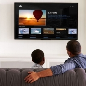 DJI-app voor Apple TV.