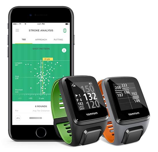 TomTom Golfer 2 SE golfhorloge met iOS-app