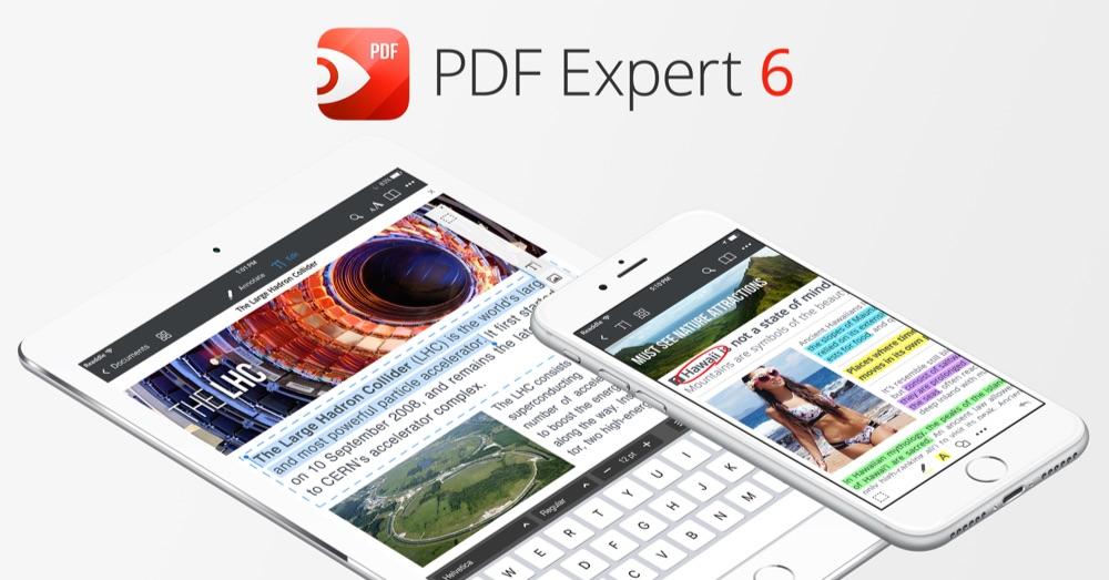 PDF Expert 6 voor iOS.