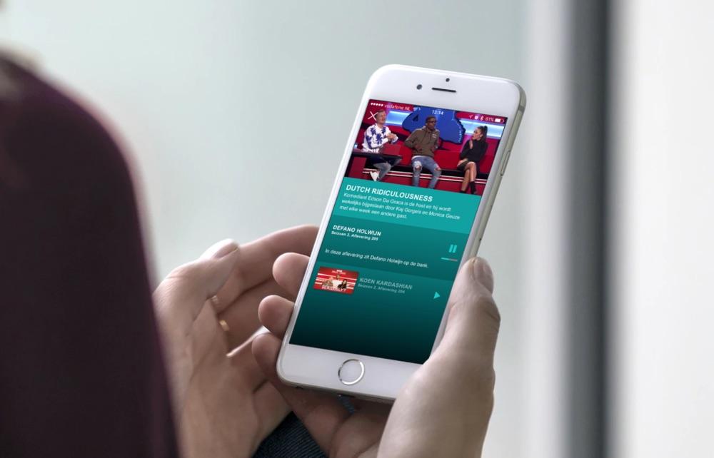 MTV PLAY op iPhone.