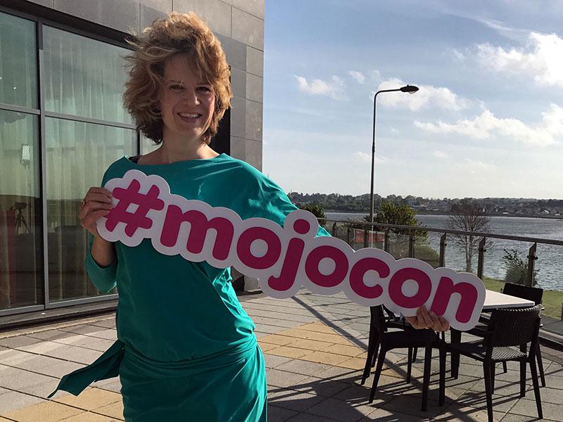 Geertje op Mojocon in Ierland