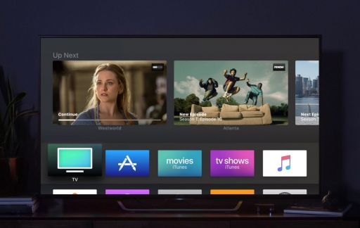 Apple TV met tvOS