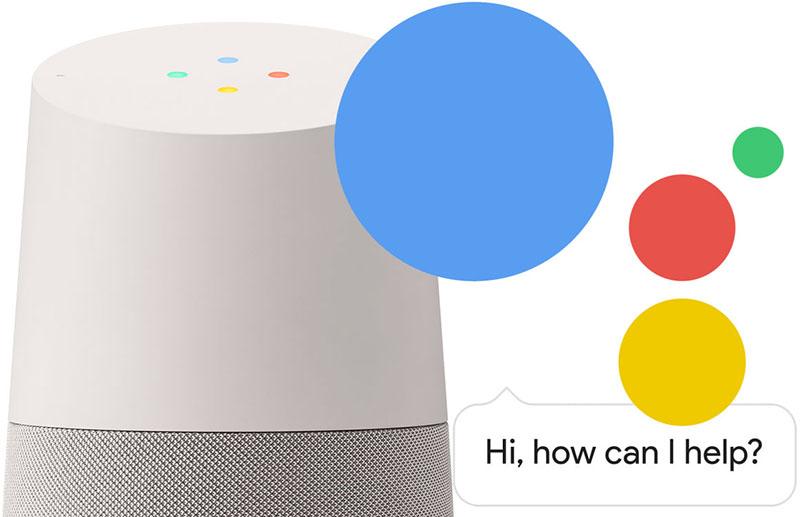 Google Assistant op Google Home