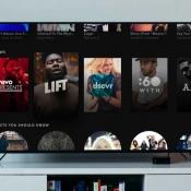 Vernieuwde Vevo op Apple TV.