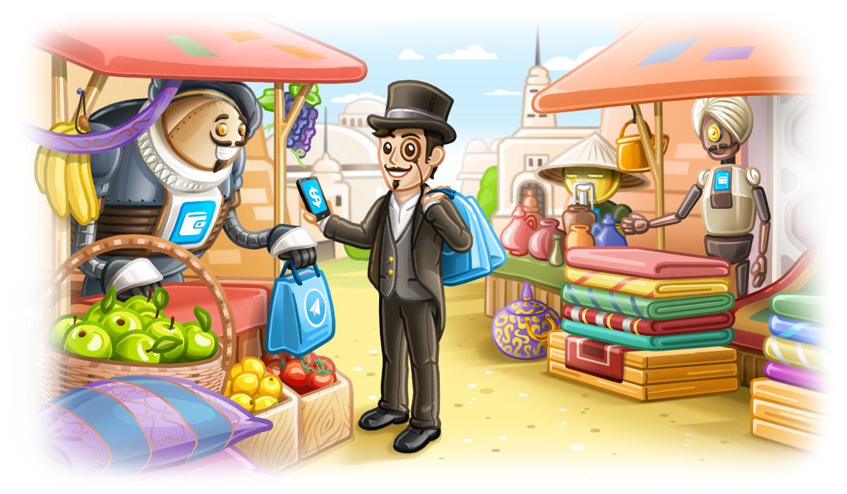 Telegram: betalen voor producten en diensten