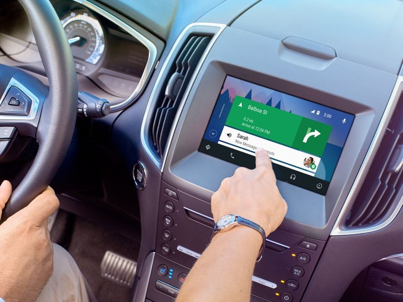 Ford met Android Auto