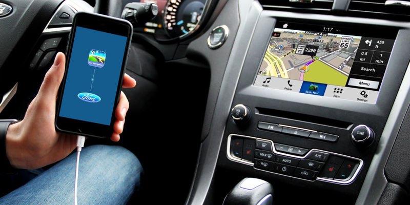 Ford Sync 3 met Sygic navigatie
