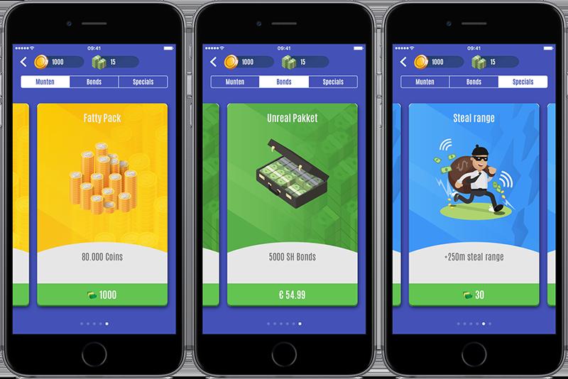 Streetholder: in-app aankopen