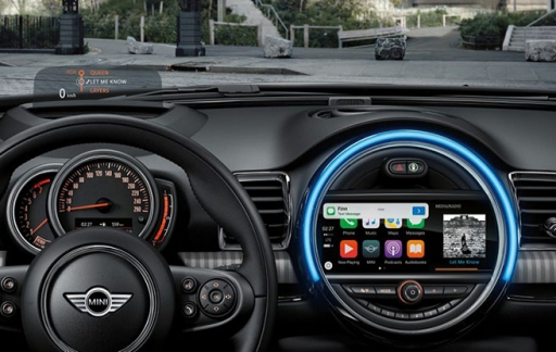MINI met CarPlay
