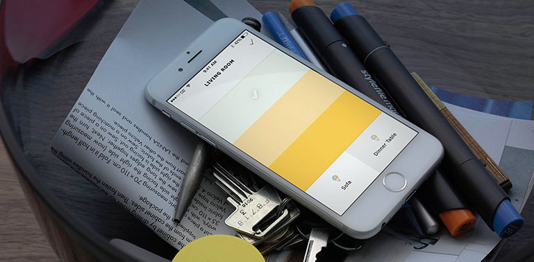 IKEA Tradfri iPhone-app