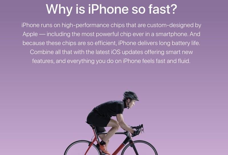 Waarom iPhone sneller is