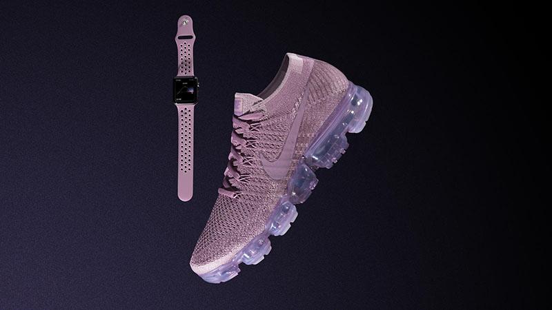 Nike Vapormax Apple Watch-bandjes roze voor vrouwen