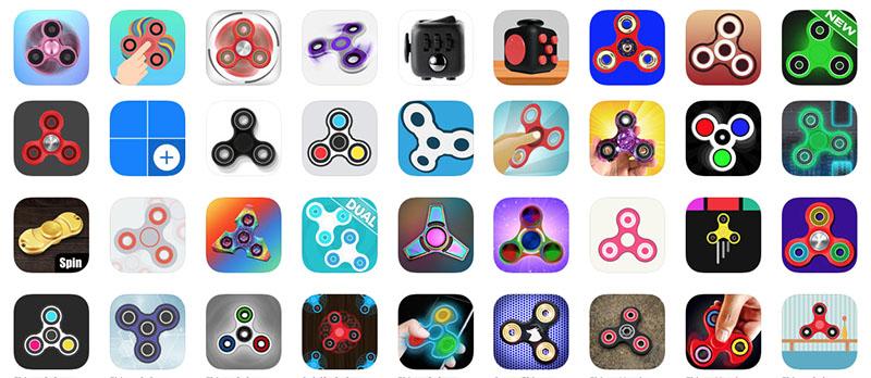 Fidgetspinner App Store