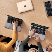 Apple Store: MacBook-gebruikers tijdens workshop