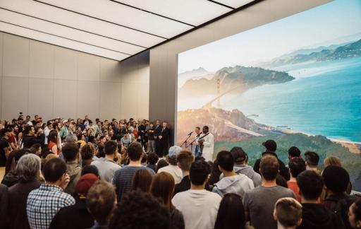 Today at Apple San Francisco