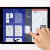Sleep bestanden tussen Readdle-apps op de iPad