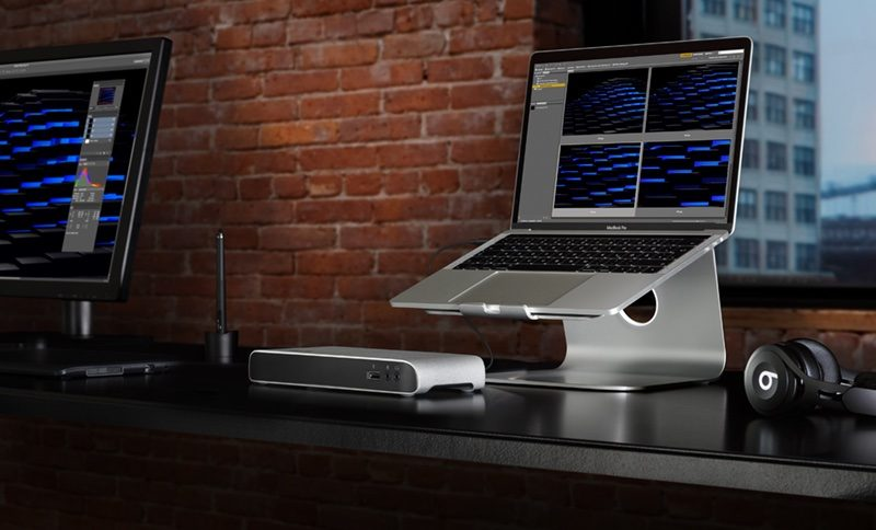 Elgato Thunderbolt 3 Dock met MacBook Pro
