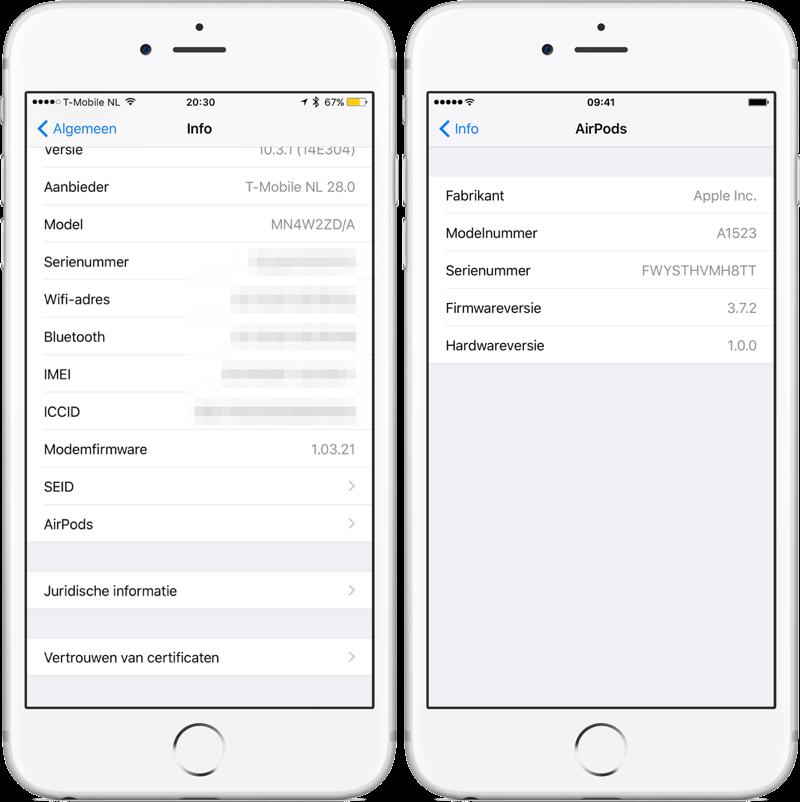 AirPods firmware-update