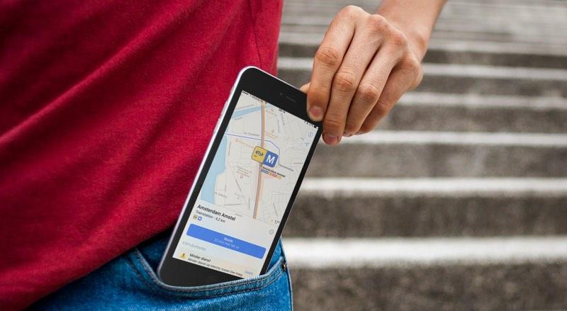 Apple Maps OV-informatie