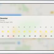 Snel het weerbericht opvragen vanuit Apple Kaarten