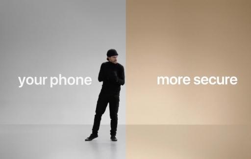 Filmpje over overstappen naar iPhone met beveiliging.