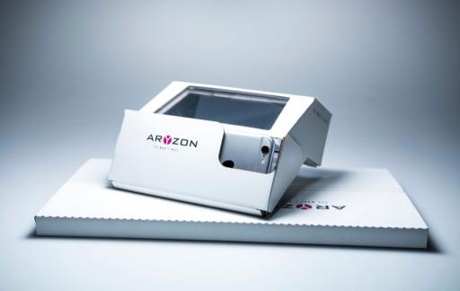 Aryzon AR-bril voor iPhone.