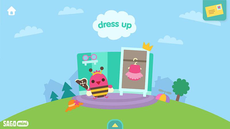 Sago Mini Wereld: Dress Up