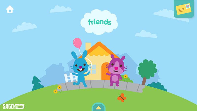 Sago Mini Wereld: Friends