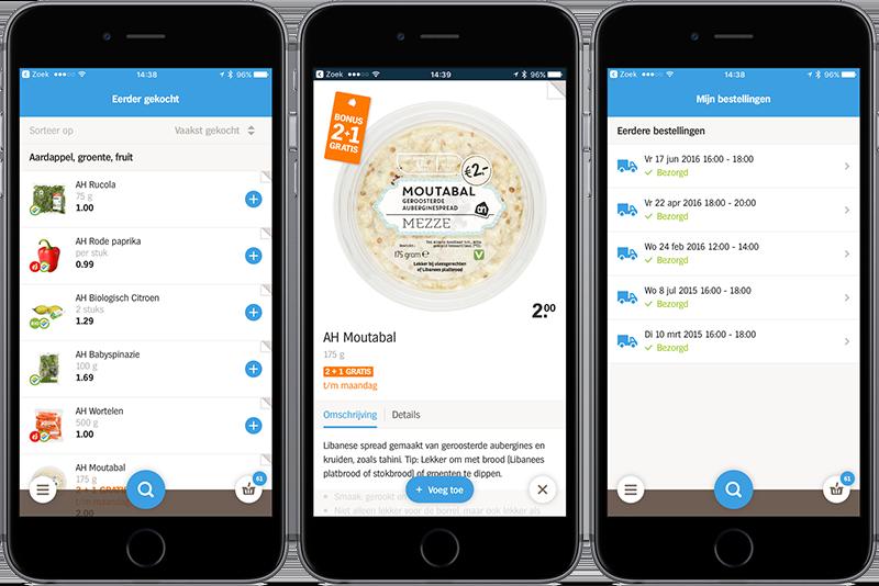 Producten bekijken in vernieuwde Appie-app