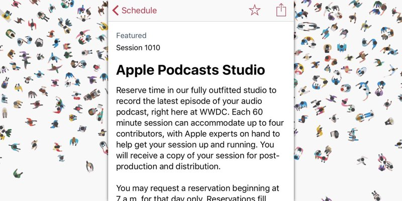 Apple Podcast Studio