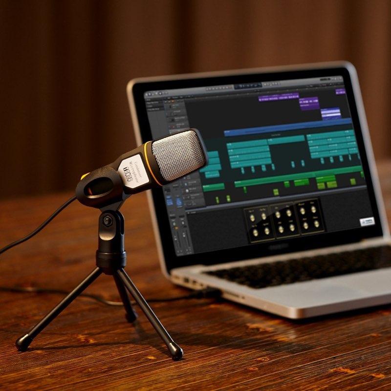 Podcast opnemen met Mac