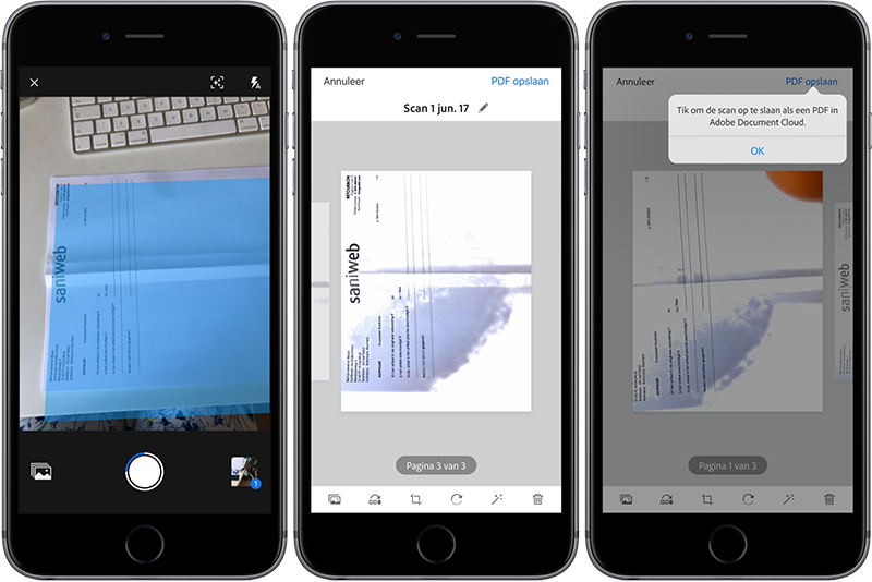 Adobe Scan iPhone-app