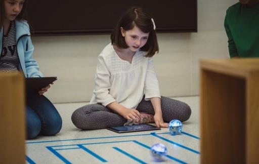Swift Playgrounds met robot.