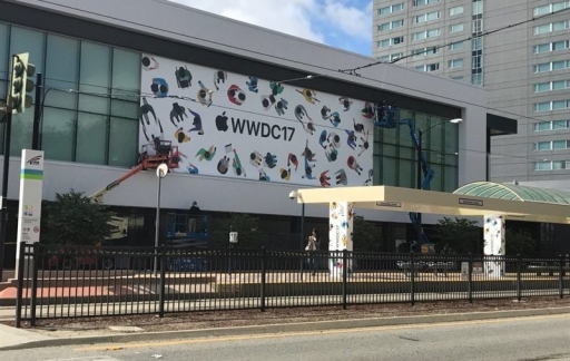 WWDC 2017 decoraties McEnery Convention Center
