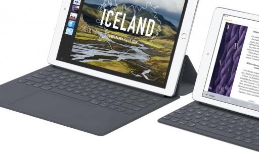 iPad Pro Smart Keyboard met multi-touch trackpad