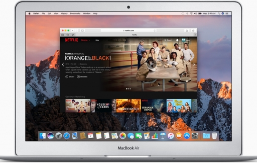 how to download on netflix macbook air